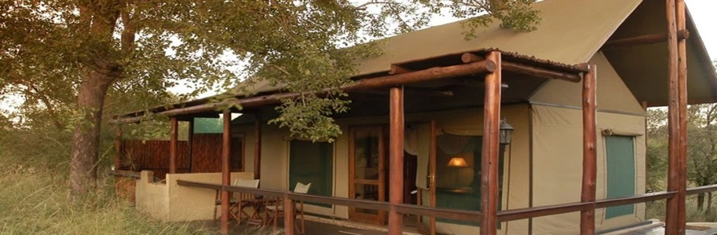 Chapungu Luxury Tented Camp Exterior Tent Views