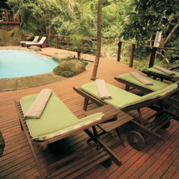 Serenity Forest Eco Reserve Deck Pool
