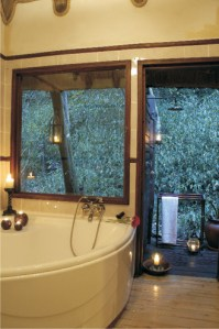 Serenity Forest Eco Reserve Forest Suite Bathroom