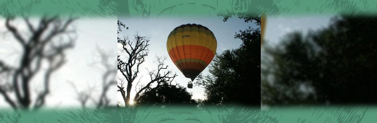 Shumbalala Game Lodge Hot Air Balloon Rides