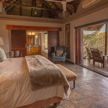 Waterbuck Game Lodge Suite View