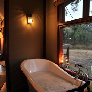 Hamiltons Tented Camp Bathroom