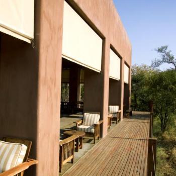 Honeyguide Mantobeni Camp Porch Area
