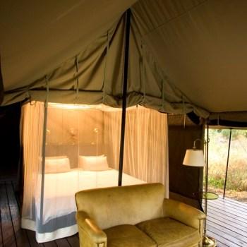 Honeyguide Mantobeni Camp Tented Interior