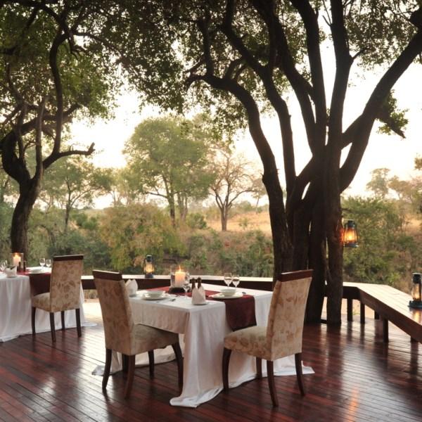 Imbali Safari Lodge Deck