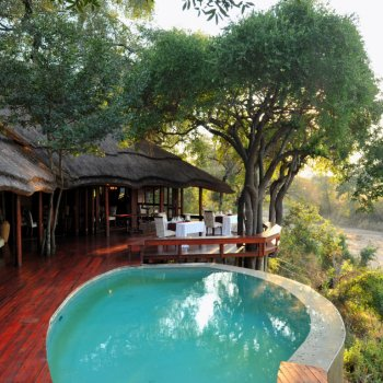 Imbali Safari Lodge Pool Area