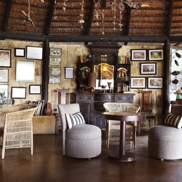 Motswari Private Game Reserve Interior Common Room Area for Lodge Guests