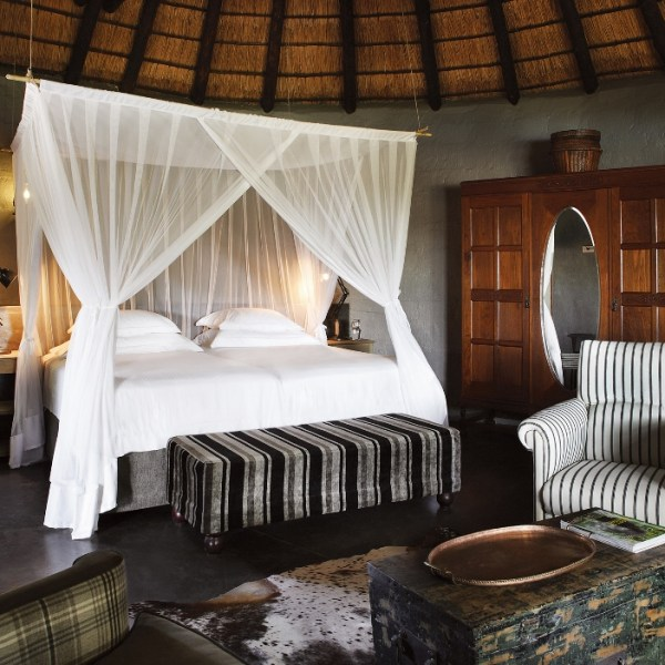 Motswari Private Game Reserve Lion Room Interior View