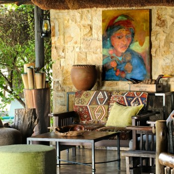 Motswari Private Game Reserve Lodge Interior Lounging Area for Guests