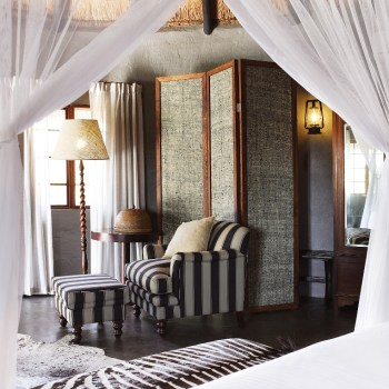 Motswari Private Game Reserve Private Room Interior View from the Double Bed