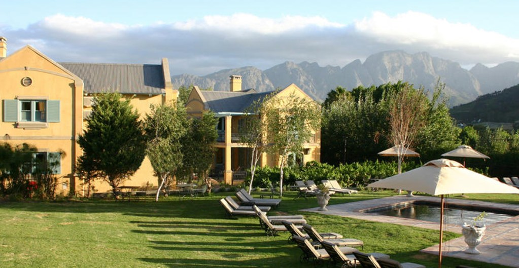 FRANSCHHOEK COUNTRY HOUSE & VILLAS package