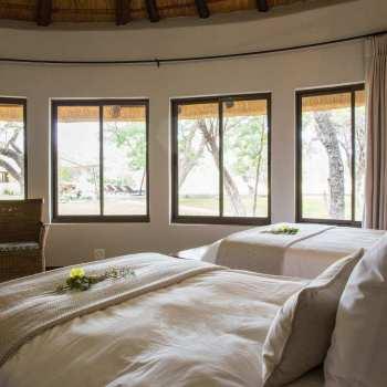 Amani Safari Camp Bed Close Up