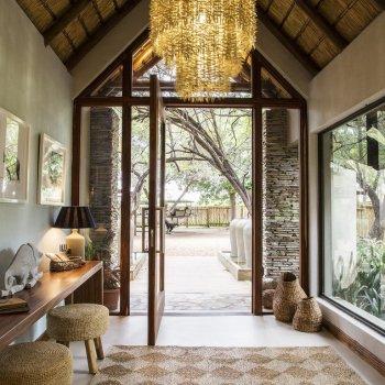 Amani Safari Camp Interior of Entrance