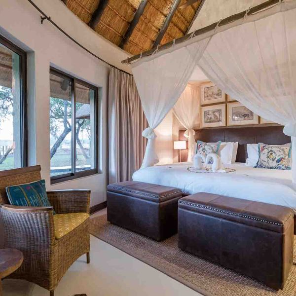 Amani Safari Camp King Bedroom Interior