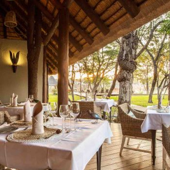 Amani Safari Camp Restaurant Seating
