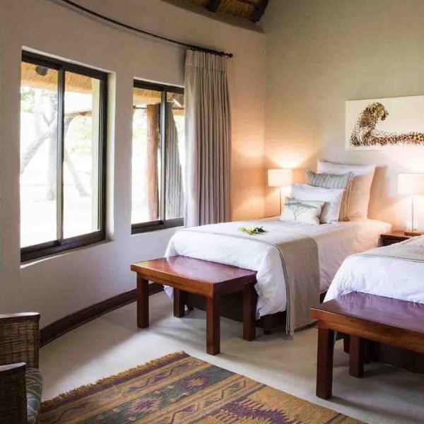 Amani Safari Camp Twin Suite Bedroom Interior