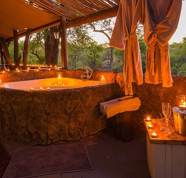 Chapungu Luxury Tented Camp Outdoor Bath