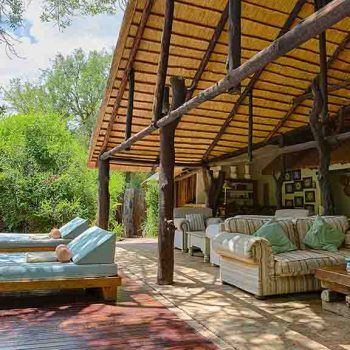 Chapungu Luxury Tented Camp Outdoor Seating