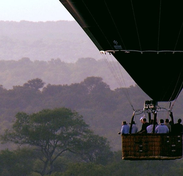 N'kaya Game Lodge Balloon Safari
