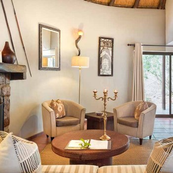 Serondella Game Lodge Accommodation Family Suite Lounge
