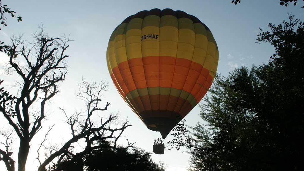 Shumbalala Game Lodge Balloon Safari
