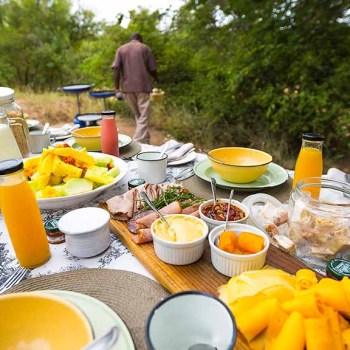 Thornybush Game Lodge Breakfast Buffet