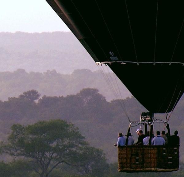 Waterbuck Game Lodge Balloon Safari