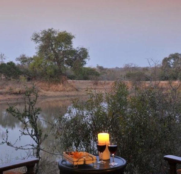 Waterbuck Game Lodge Deck Views