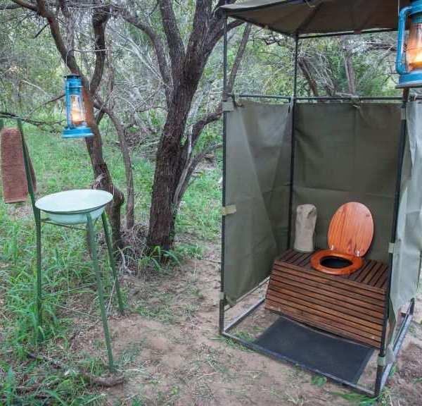 Bateleur Mobile Camp Bush Toilet