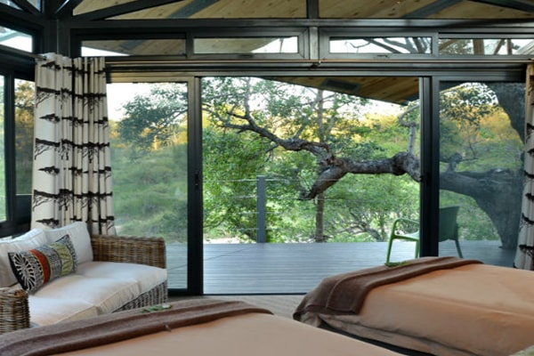 Greenfire Game Lodge Bedroom