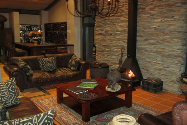 Greenfire Game Lodge Lounge