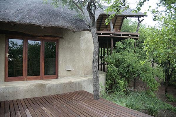 Kgoro Lodge Accommodation Porch
