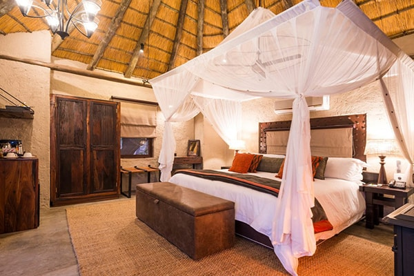 Makalali Private Game Lodge Bedroom