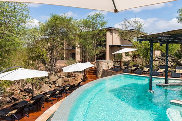 Makalali Private Game Lodge Pool Area