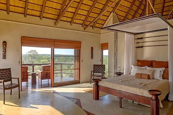 Makumu Luxury Safari Lodge Zulu Suite Bedroom