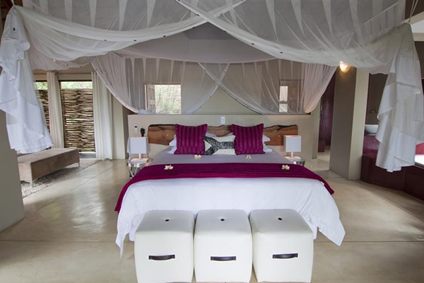 Naledi Bushcamp and Enkoveni Camp Suite Bedroom