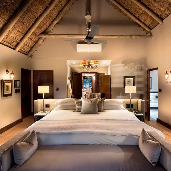 Ngala Safari Lodge Family Cottage Bedroom