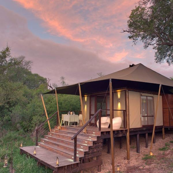 Ngala Tented Camp Guest Tent Exterior