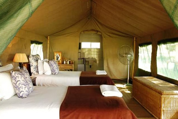 Nkelenga Tented Camp Interior