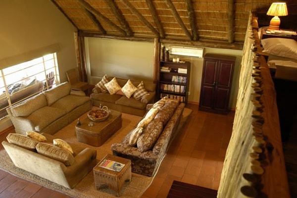 Nkelenga Tented Camp Lounge