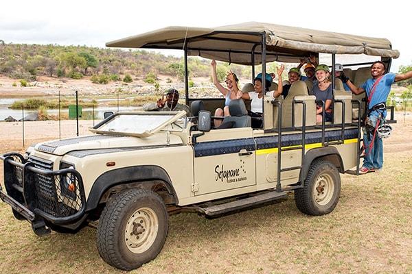 Sefapane Lodge Game Drive Safari