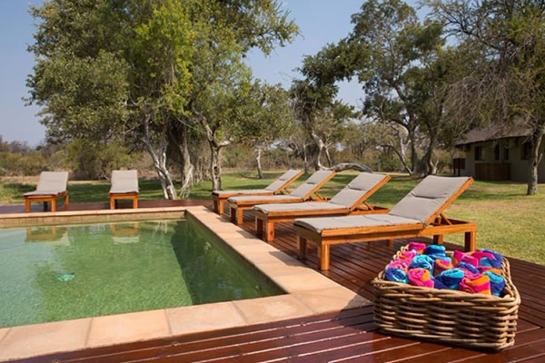 Senalala Luxury Safari Camp Pool
