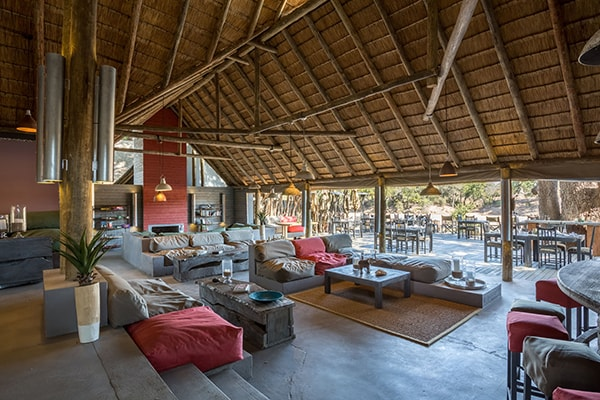 Simbavati River Lodge Lounge