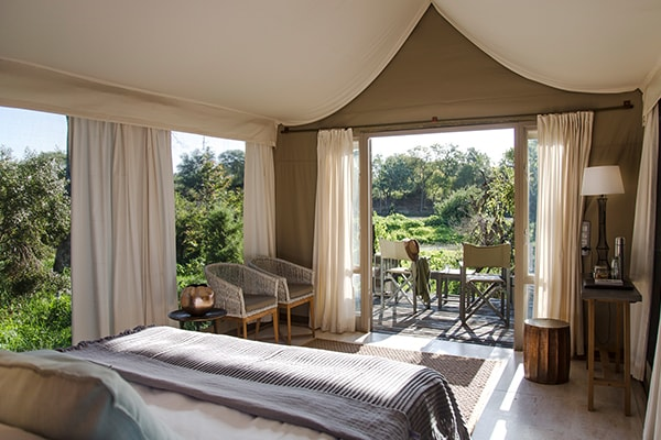 Simbavati River Lodge Luxury Safari Tent