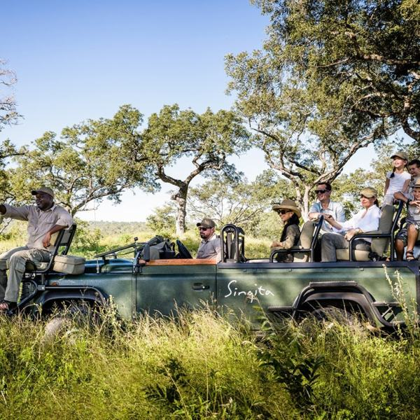 Singita Ebony Lodge Game Drive Safari