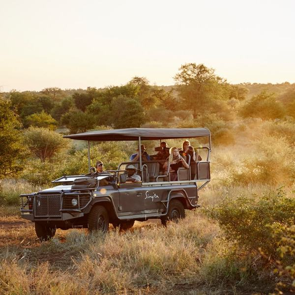 Singita Sweni Lodge Game Drive Safari