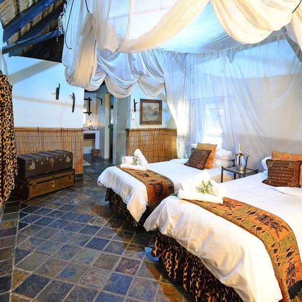 Tangala Safari Camp Chalet Twin Beds
