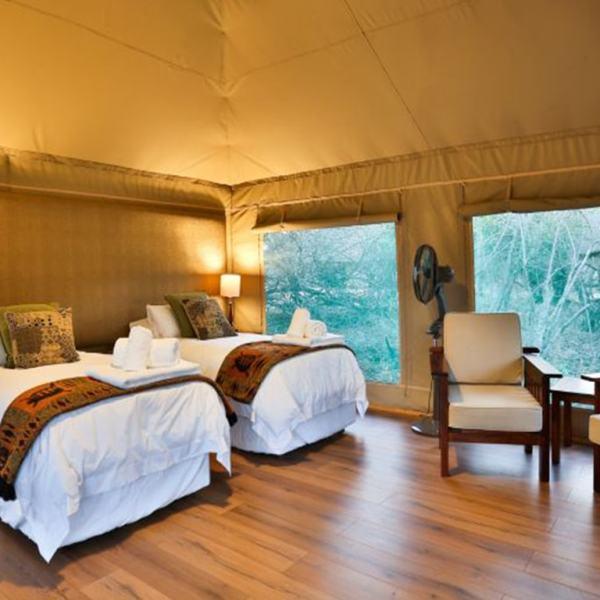 Tangala Safari Camp Safari Tent Beds