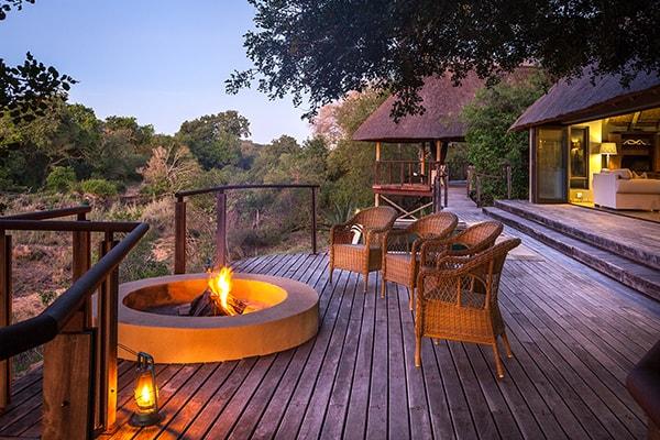 The River Lodge Royal Suite Deck