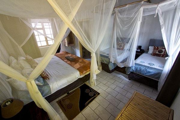 Tremisana Game Lodge Shared Bedroom